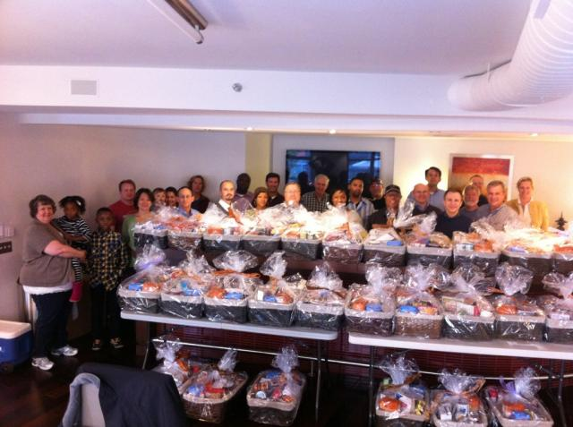 eMentum Thanksgiving Food Basket Community Service Event